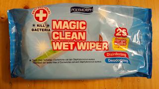 Magic Clean Wet Wiper Tisue Basah Pembersih Lantai Anti Bacterial