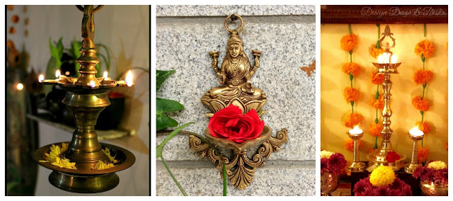 Design Decor Disha An Indian Design Decor Blog Diwali Decor With Brass Lamps