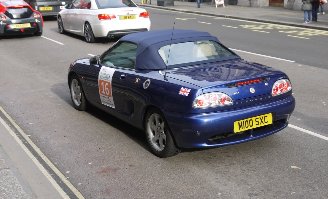 Privately converted electric MGF