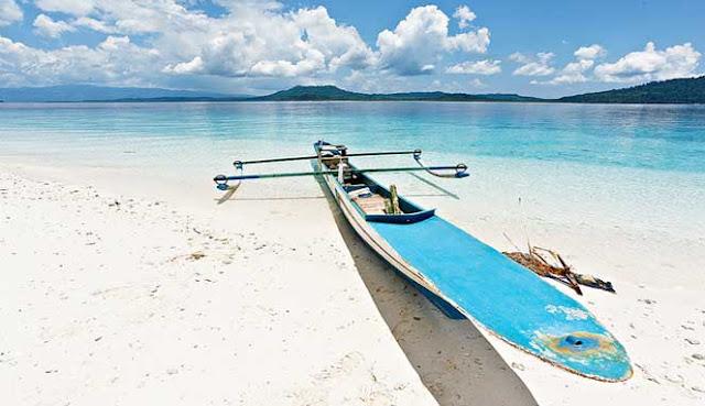 Ambon island Indonesia