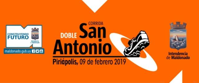 8k y 4k Corrida Doble San Antonio en Piriápolis (Maldonado, 09/feb/2019)