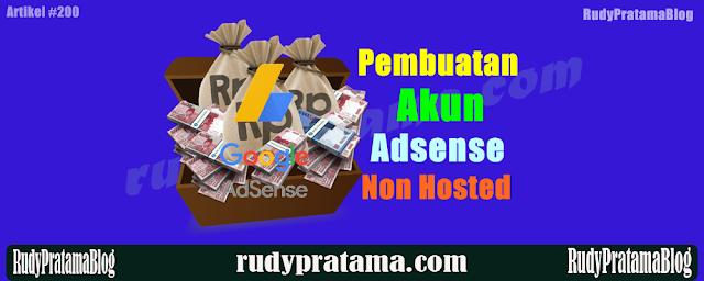 Jasa Pembuatan Akun Google Adsense Non Hosted