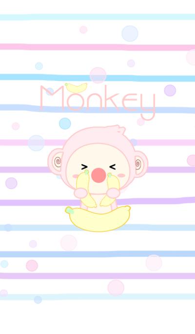 Pink Monkey Pastal