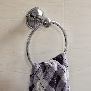 Enter the HotelSpa AquaCare Series Insta Mount Towel Ring Giveaway. Ends 11/27.