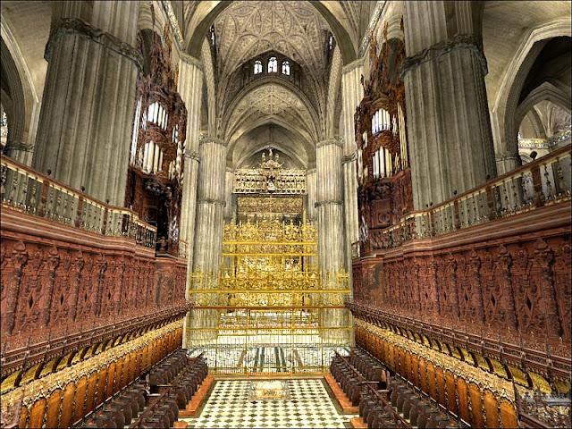 Partes da Catedral de Sevilha