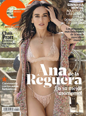 Ana de la Reguera - GQ Mexico 2017 Mayo (10 Fotos HQ)