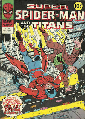 Super Spider-Man and the Titans #230, the Tarantula