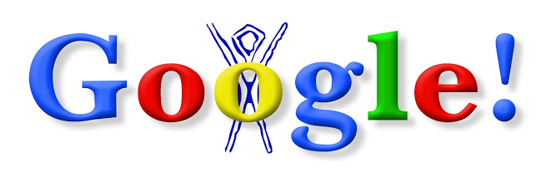First Google Doodle 1998