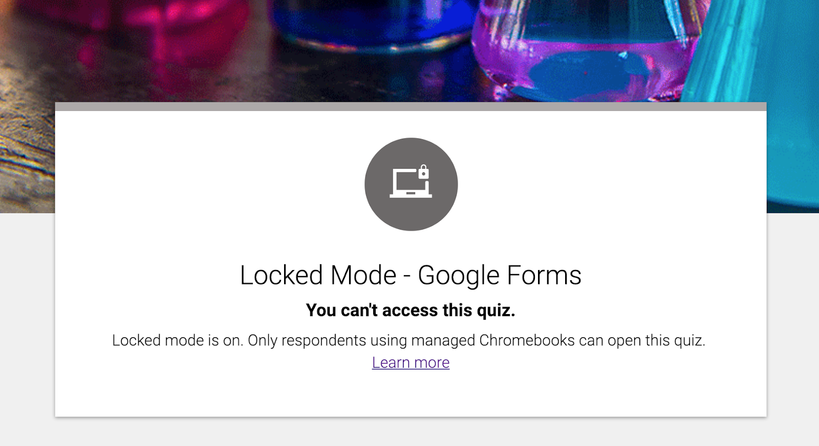 Getting Started With Locked Mode for Quizzes on Chromebooks