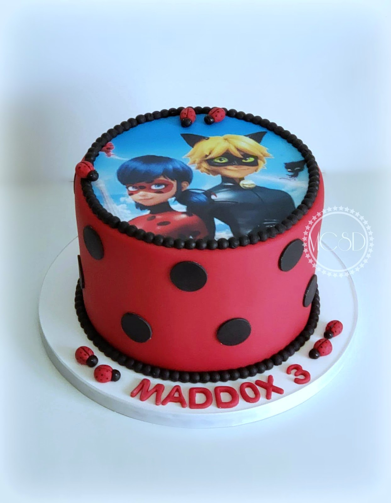 Miraculous Cakesbyzana Miraculous Ladybug Cake Funny Birthday Cards Online Elaedamsfinfo