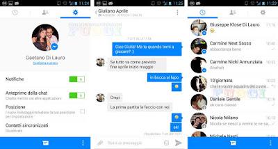 Facebook Messenger Apk Offline Installer for Android