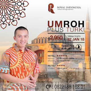 Paket Royal Indonesia Umroh Plus Turki