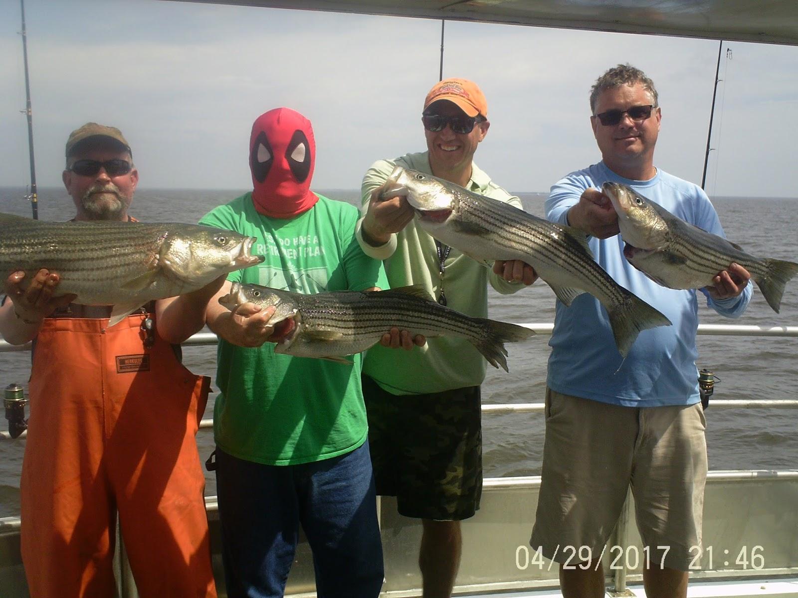 Nj salt fish 2017 04 29 seahunter atlantic highlands for Atlantic highlands fishing report