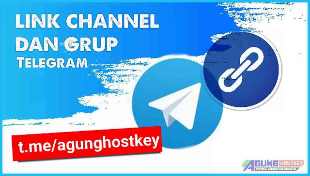 cara membuat link channel dan grup telegram