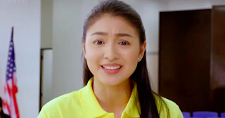 Nadine Lustre in Filipino teleserye OTWOL On the Wings of Love