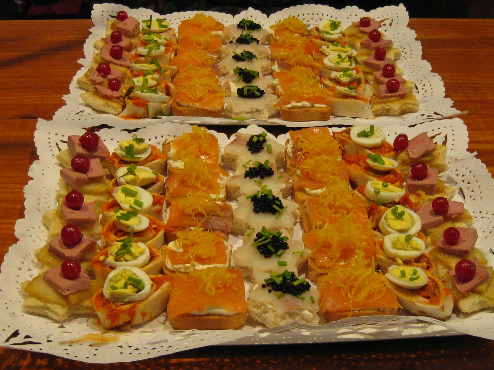 Cocina conmigo canapes variados - Como hacer un canape ...