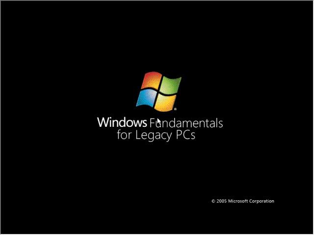 Windows fundamentals for legacy pcs youtube.