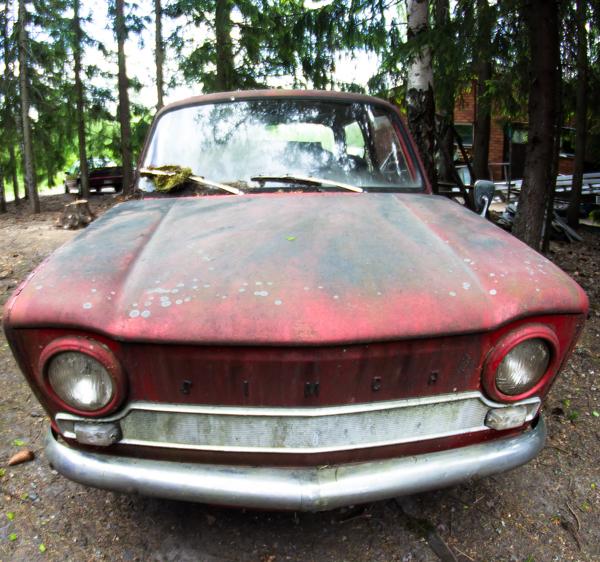 PauMau blogi nelkytplusbloggari nelkytplus kesäkuu pieni lintu haaste haasteblogi auto simca 1964 projektiauto old car vintage auton maski 1960 sixties