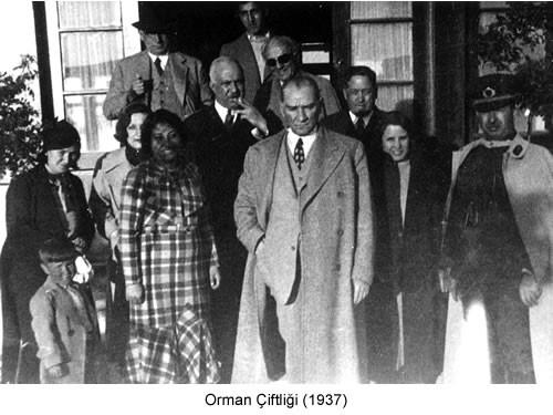 Atatürk Orman Çiftliği 1937 Fotoğraf