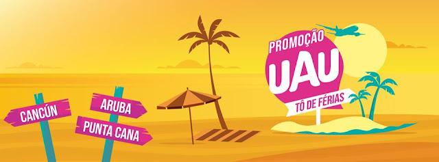 """Promoção """"Uau, Tô de Férias"""" Blog Top da Promoção #topdapromocao @topdapromocao www.topdapromocao.com.br sorteio instagram pinterest facebook youtube twitter http://topdapromocao.blogspot.com"""