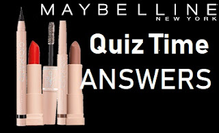 ALL ANSWERS - Amazon Maybelline Quiz Time Win Rs.5000/- Amazon Pay Balance
