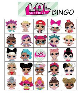 l.o.l. surprise bingo