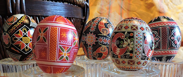 Pysanky, Pisanki, Polish Easter Eggs, Ukrainian Easter Eggs