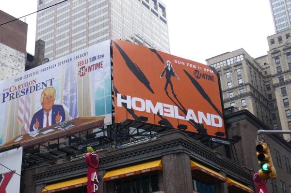 Homeland season 7 billboard