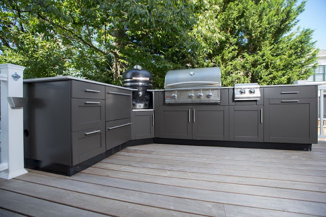 Danver BBQ Cabinets Outdoor Kitchen