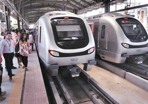 Tinuku Mumbai Metro One's detailed facilities available in Google Maps