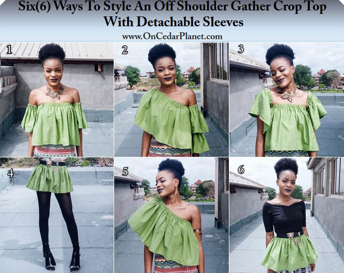 how style a crop with detachable sleeves