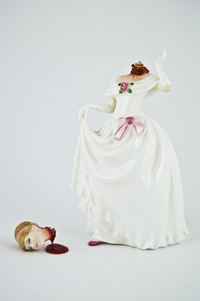 Jessica Harrison porcelain figurines: Ruby