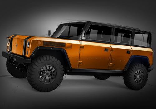 Tinuku Bollinger Motors unveils B1 4x4 EV for 4-door version
