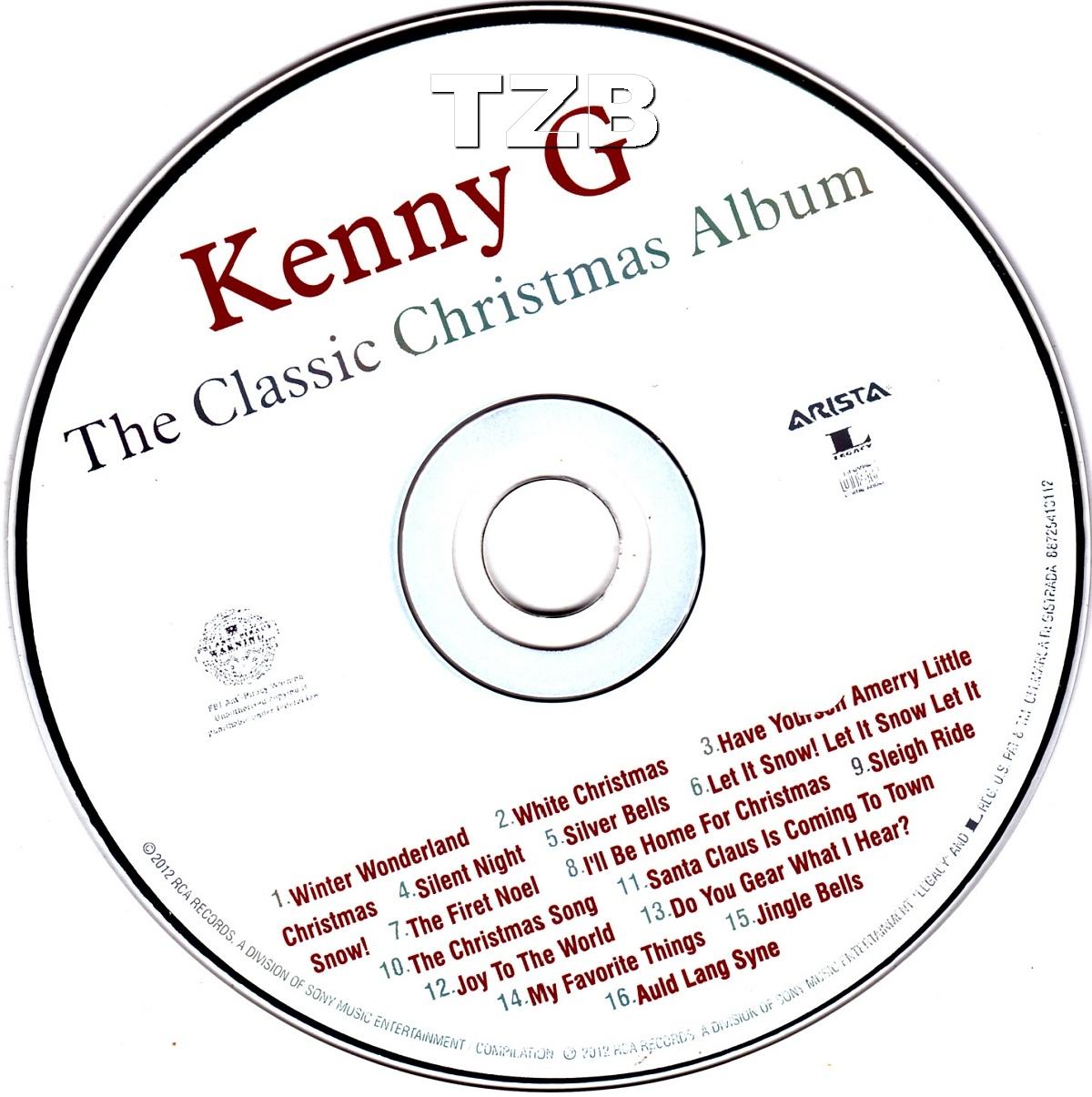 Kenny G Christmas Cd Photo Album - Christmas Tree Decoration Ideas