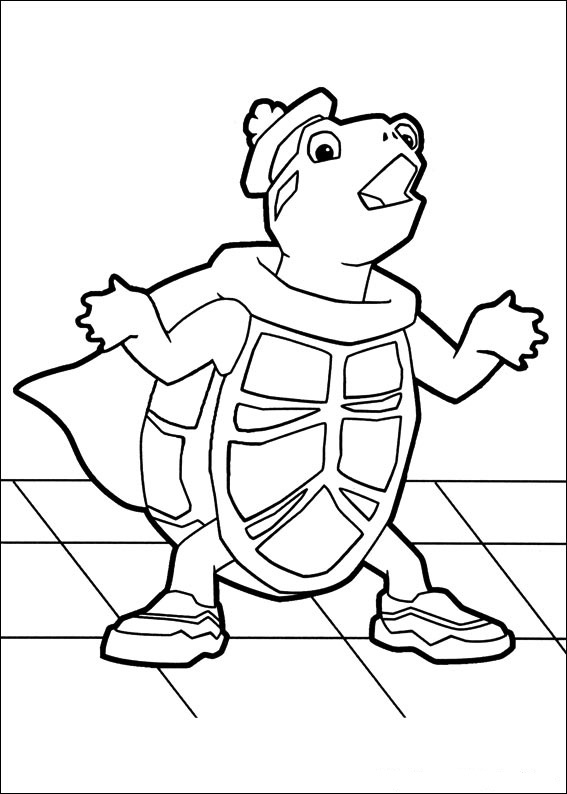 wonder pets free coloring pages - photo#5