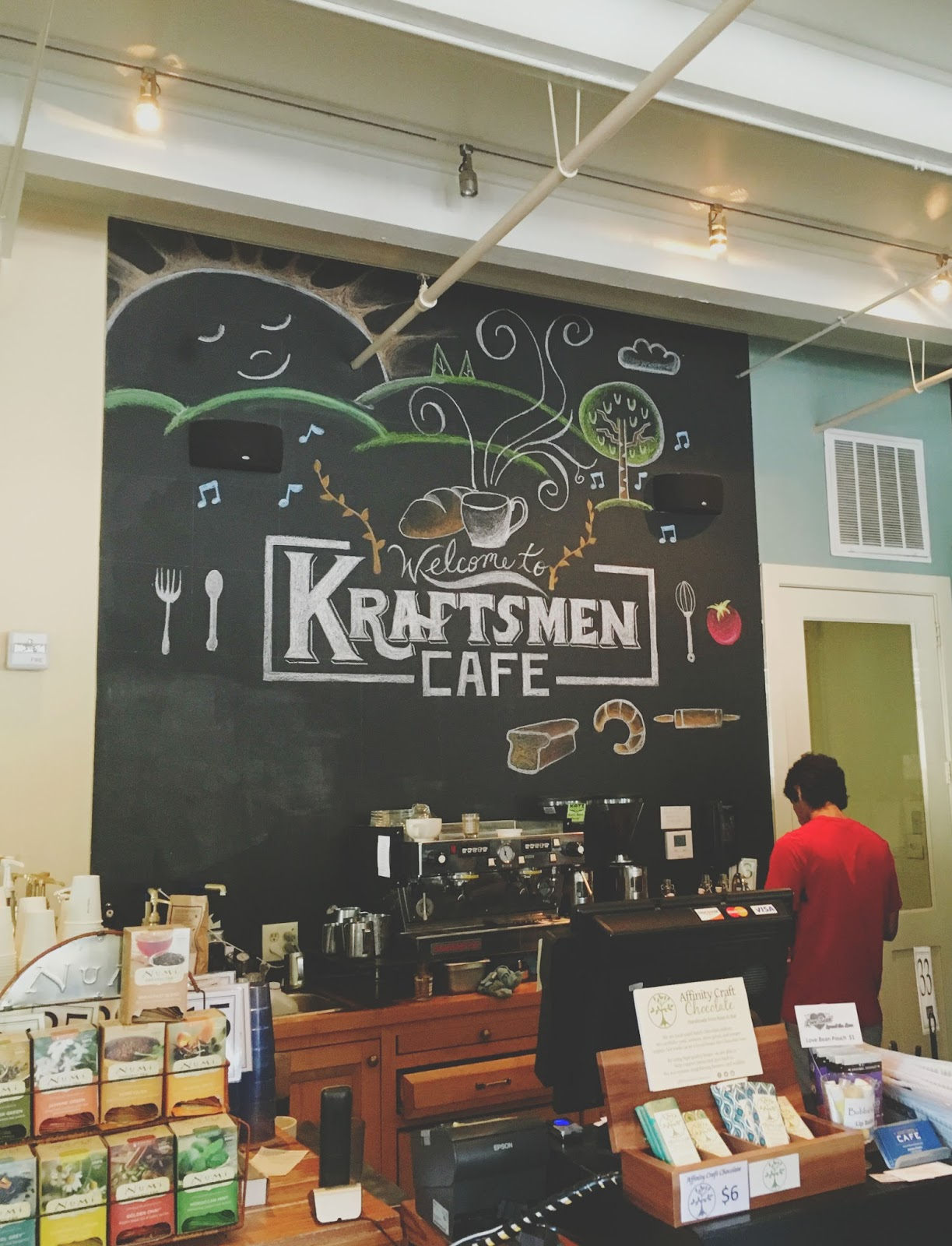 BYOB brunch at Kraftsmen Cafe - a bakery/restaurant in Houston, Texas