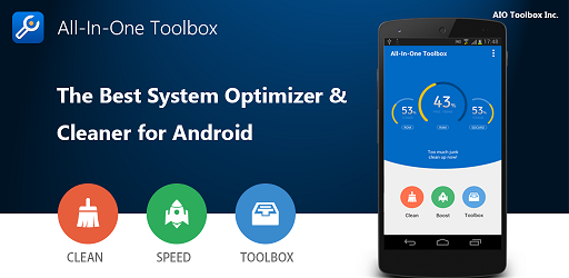 All-In-One Toolbox: Limpiar, acelerar, optimizar