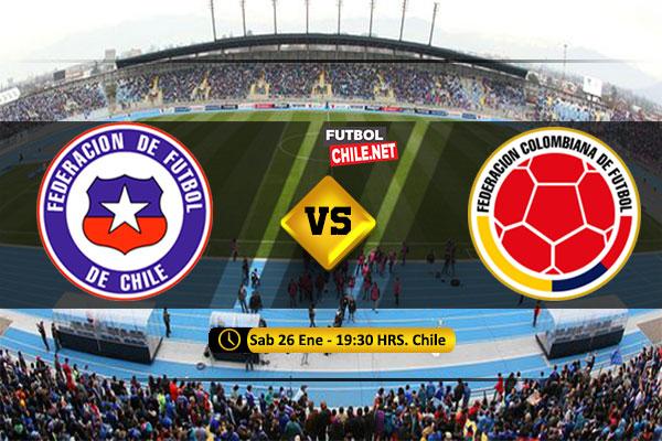 Mira Chile vs Colombia en vivo y online por la Fecha 5 del Sudamericano Sub-20