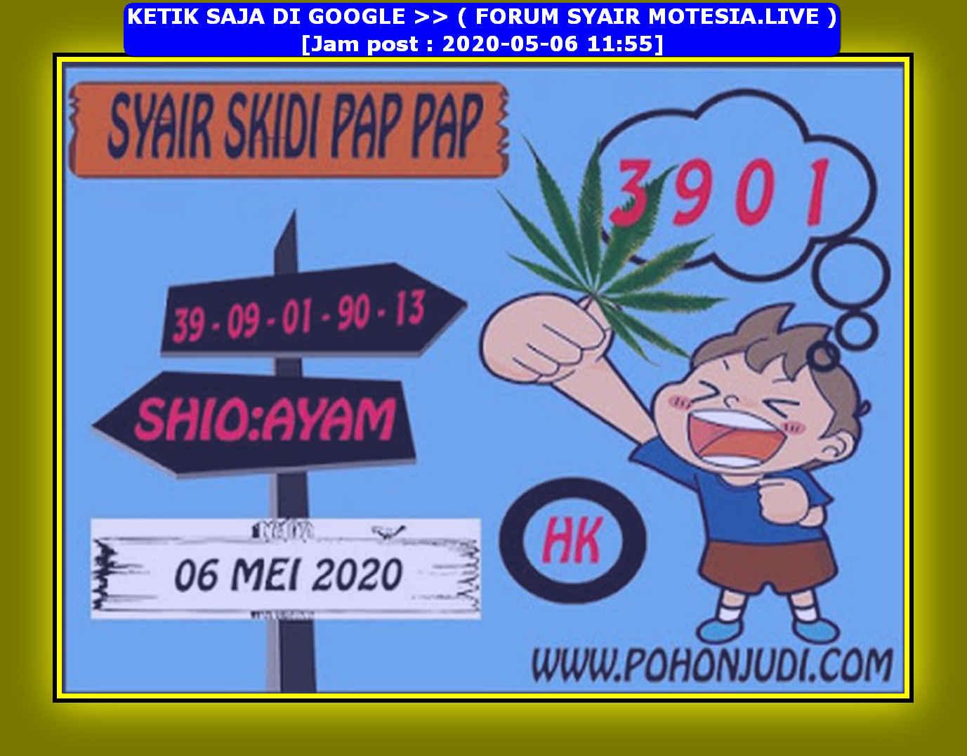 Kode syair Hongkong Rabu 6 Mei 2020 218