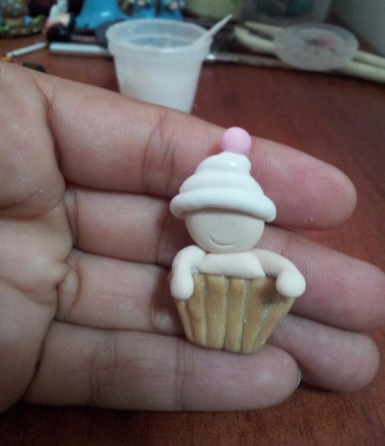Aprende-hacer-este-bebé-cupcakes-en-Porcelana-Fría