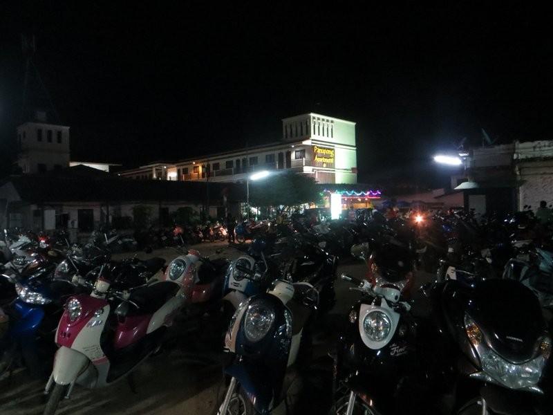 Ночная стоянка на Чавенге