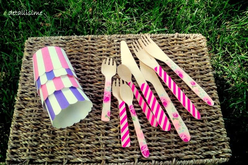 tenedores de madera