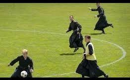 Padres do Benfica em acção