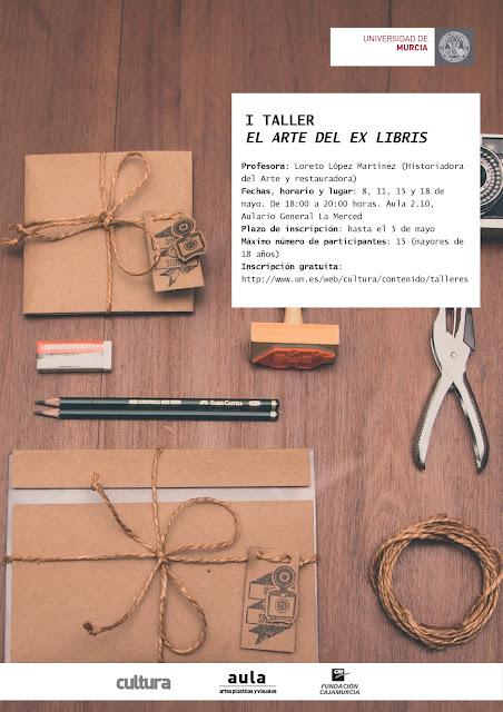 """I Taller: """"El arte del ex libris""""."""