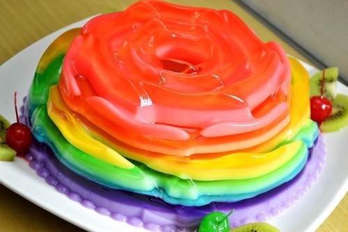 Pin Agar Pelangi Cake On Pinterest