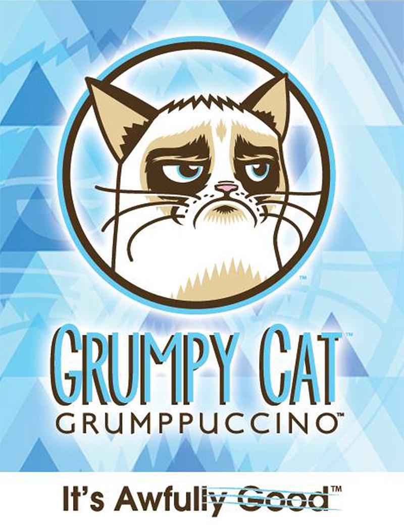Grumpy Cat Grumppuccinos