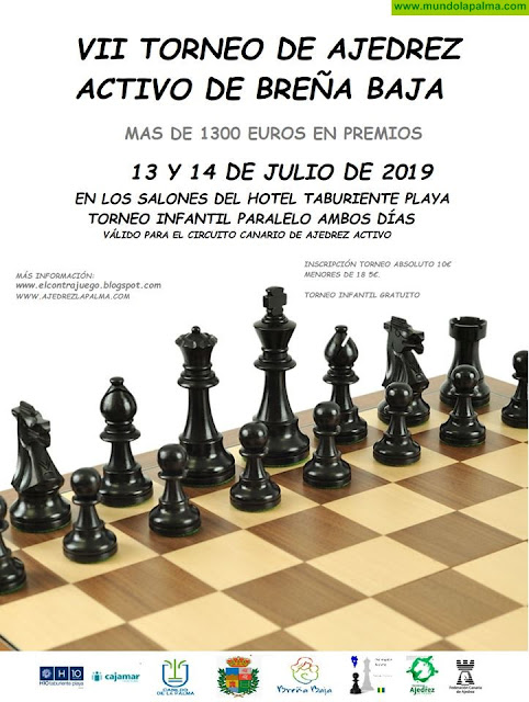 "SANTA ANA 2019: VII Torneo de Ajedrez ""Breña Baja Mágica"""