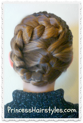 special occasion updo tutorial