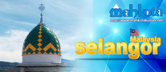 Kubah yg dipasang di Selangor