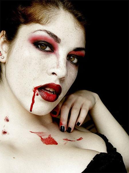 halloween makeup vampire man - photo #9